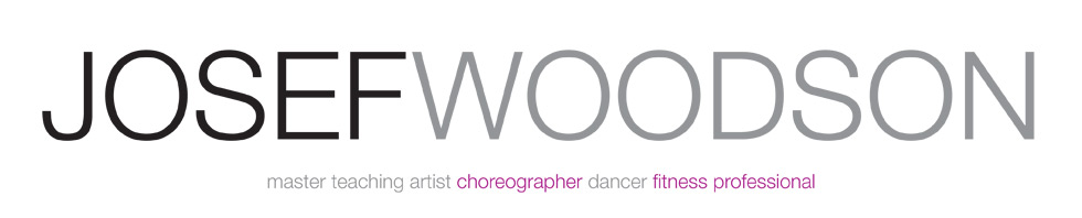 Josef Woodson, master teaching artist choreographer dancer fitness professional